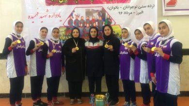 Photo of با شکست تهرانی ها در فینال/ دختران نوجوان گلستانی قهرمان ایران شدند