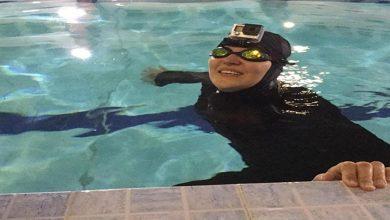 Photo of مهناز کریمی زن رکوردهای سخت