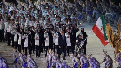 Photo of رژه کاروان ایران در افتتاحیه باشکوه بازی های آسیایی