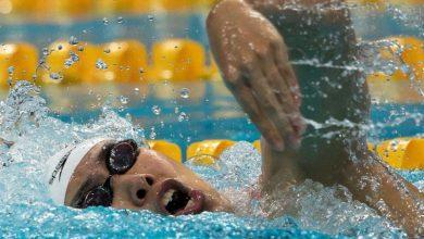 Photo of حمله فیزیکی شناگر زن چینی به شناگر کرهای