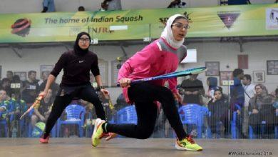 Photo of تیم ملی جوانان اسکواش ایران در مسابقات جهانی هند