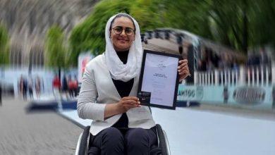 Photo of زهرا نعمتی صاحب دیپلم افتخار شد