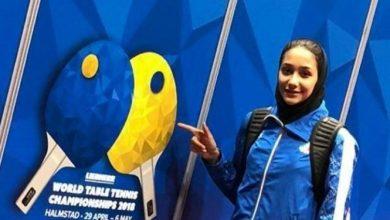 Photo of دختر پینگپنگ باز ایران مسابقات قهرمانی آسیا را از دست داد