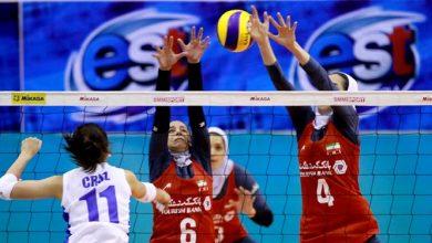 Photo of شکست سنگین بانوان ایران مقابل میزبان در گام نخست
