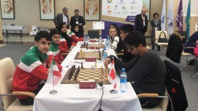 Photo of عنوان پنجم ایران در مسابقات شطرنج سریع و برق آسای تیمی زیر ۱۷ سال جهان