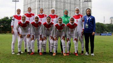 Photo of تیم ملی فوتبال بانوان ایران در رده ۷۱ جهان قرار گرفت/ یک پله سقوط