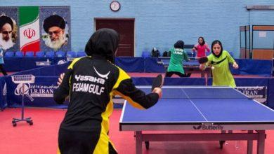 Photo of تنیس روی میز قهرمانی آسیا/ بانوان ایران از سد نپال گذشتند