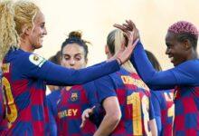 Photo of بارسلونا قهرمان لیگ فوتبال زنان اسپانیا شد