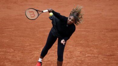 Photo of تنیس آزاد فرانسه/ کنارهگیری ویلیامز از مسابقات