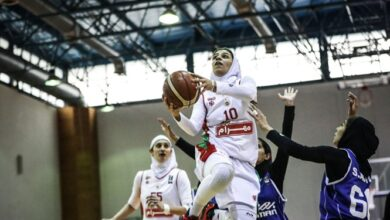 Photo of لیگ برتر بسکتبال بانوان/ نوار پیروزیهای نارسینا در دیدار با مهرام پاره شد