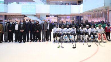 Photo of حضور رئیس کمیته ملی المپیک در اردوی تیم ملی هاکی روی یخ بانوان