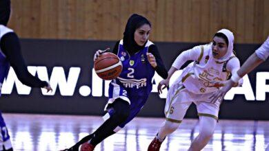 Photo of پلیآف بسکتبال بانوان/ مهرام و گروه بهمن به دنبال فینالیست شدن