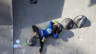 Photo of رکابی قهرمان سنگنوردی جام فجر بانوان شد