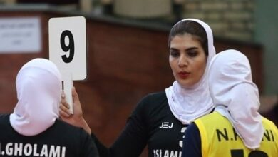 Photo of بانوی والیبالیست ایران لژیونر شد