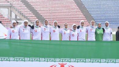Photo of اعلام جدیدترین ردهبندی فیفا؛ تیم فوتبال بانوان ایران در جایگاه هفتادم جهان