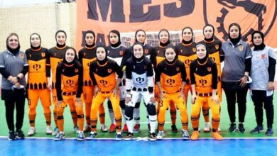Photo of لیگ برتر فوتسال بانوان/ برتری مس رفسنجان مقابل نفت آبادان