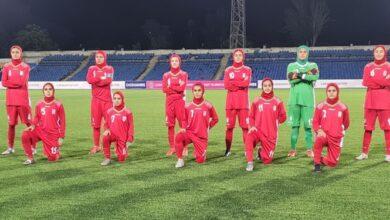 Photo of تورنمنت فوتبال جوانان کافا/ تساوی بانوان ایران مقابل ازبکستان