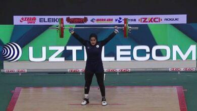 Photo of وزنه برداری قهرمانی جوانان جهان/ کسب اولین مدال تاریخ بانوان کشورمان توسط جمالی