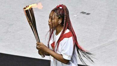 Photo of المپیک توکیو/ روشن کننده مشعل المپیک بدون مدال ماند